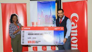 Cameras, Printers, & a Trip to Dubai — Canon Discovery Week Nigeria Raffle Winners Announced