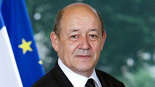 Jean-Yves Le Drian, Ministre de l'Europe et des Affaires étrangères, à Madagascar