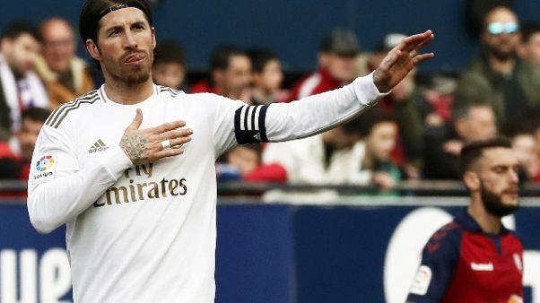 Contratto Ramos scade nel 2021, ma il Real Madrid non ha fretta