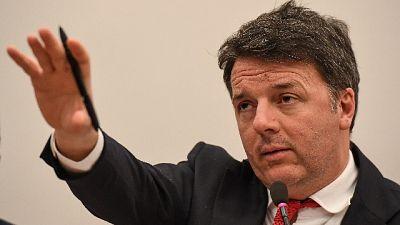 Renzi, con Conte spero fine teatrino