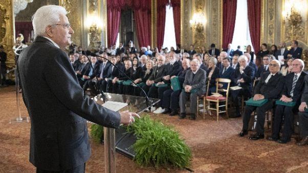 Tap: Mattarella, favorisce stabilità