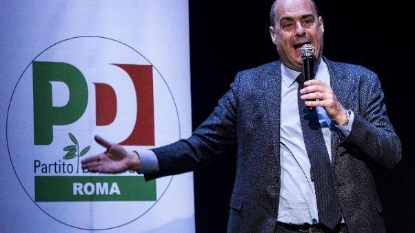 Governo:Zingaretti,no polemiche ma fatti