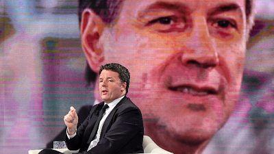 Governo: Renzi, chiesto incontro a Conte