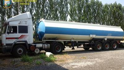 Traffico di carburanti,Gdf sgomina banda