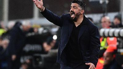 """Napoli: Gattuso """"Ospina o Meret? Non aziendalista,faccio scelte"""""""