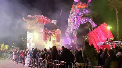 Carnevale Viareggio:è 1/a giovedì grasso