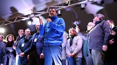 Salvini, prima progetto poi candidato