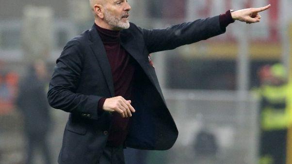 Calcio: Pioli, Astori sarebbe felice di vedermi al Milan