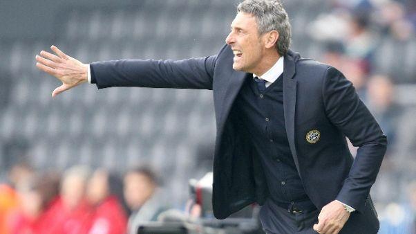 Calcio: Udinese;Gotti,problemi Bologna solo per chi subentra