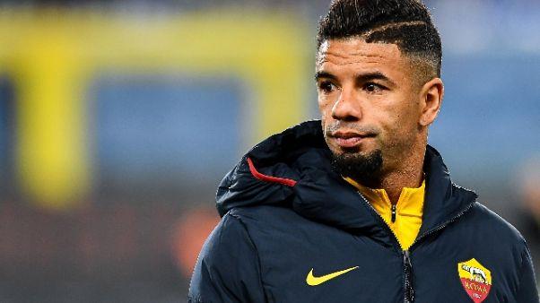 Calcio: Roma; riscatto Bruno Peres,ho messo la testa a posto