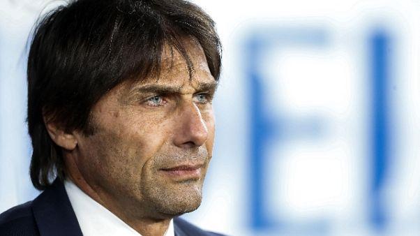 Inter: Conte, difficile preparare la partita in un solo giorno