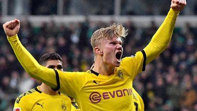 Calcio: Germania;Haaland non si ferma più,a segno anche oggi