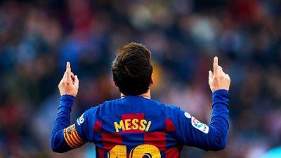 Calcio: il Barcellona vince 5-0, quattro gol li fa Messi
