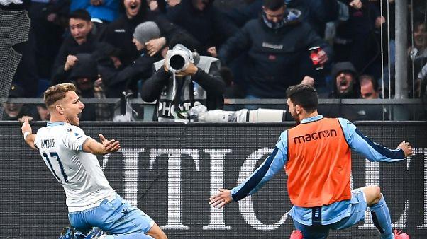 Serie A: la Lazio non si ferma, ko anche il Genoa