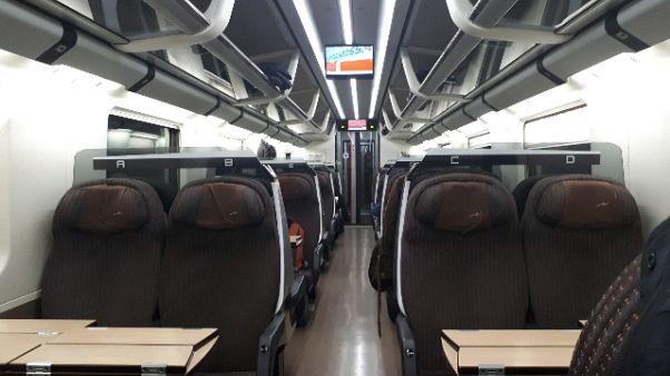 Coronavirus: treni mezzi vuoti a Milano
