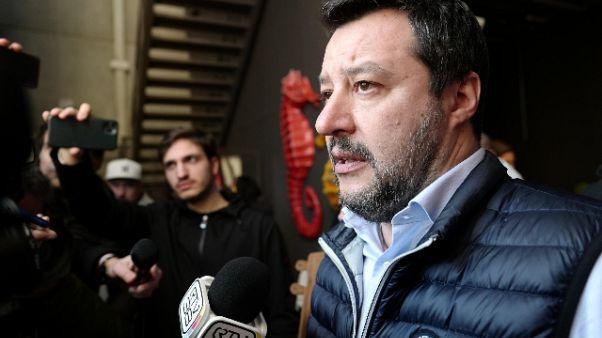 Coronavirus:Salvini, controllare confini