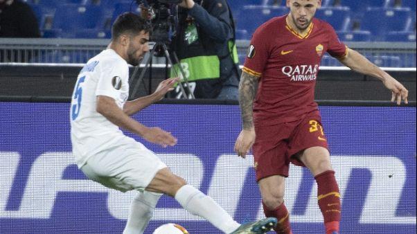 Roma: Perez esulta, una grande vittoria di squadra