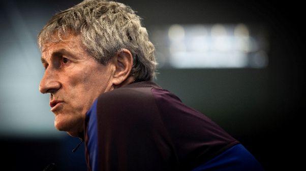 Champions: Gattuso, Setien un grande, lo mandavo a spiare