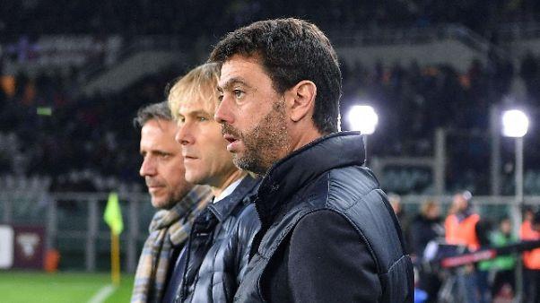 "Agnelli ""Bene Sarri, eresia non pensare a Guardiola"""