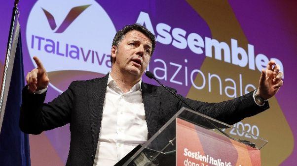 Coronavirus: Renzi, stop polemiche