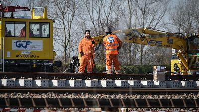 Treno deragliato: riapertura il 2 marzo