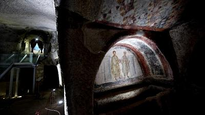 Coronavirus, chiuse catacombe in Italia