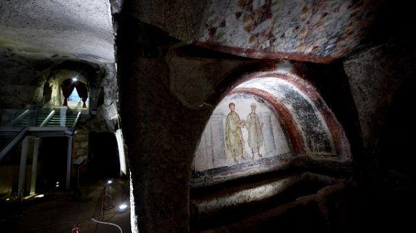 Coronavirus, chiuse catacombe in Italia
