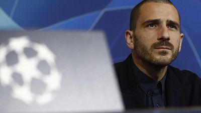 """Champions: Juve; carica Bonucci, """"tutti insieme si può"""""""