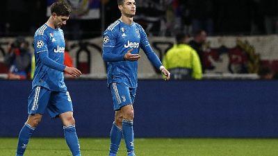 ++ Champions: Juve; Ronaldo, non è risultato che volevamo ++