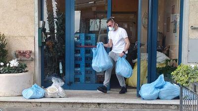 Cameriere e volontario in hotel Alassio
