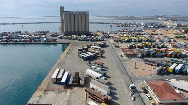 Termoscanner attivi in porto Cagliari