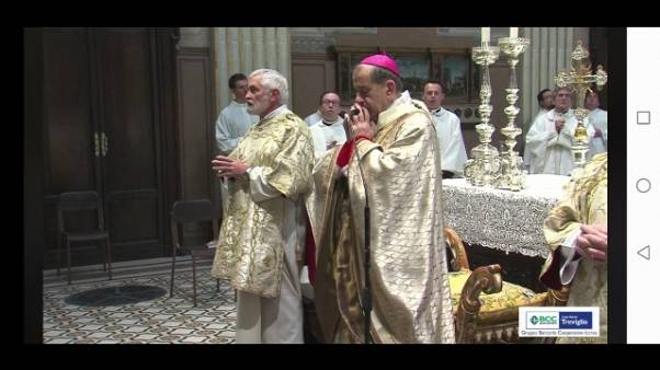 Arcivescovo Milano, allarme spropositato