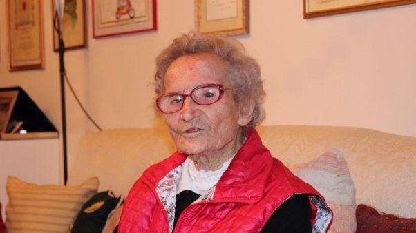 A 108 nonna Lisa non teme il coronavirus