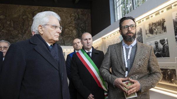 Mattarella, Ue antidoto a fanatismi