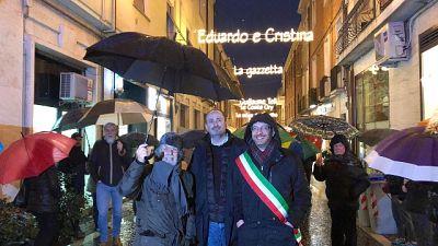 Pesaro riaccende via luci opere Rossini
