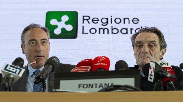 Coronavirus:positivo assessore Lombardia