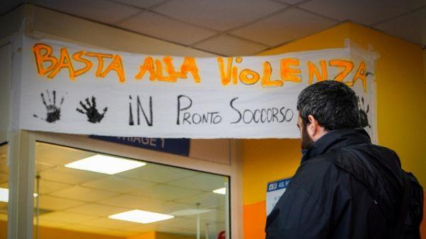 Rapina Napoli: solidarietà in ospedale