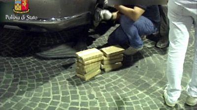 Coca in auto per 1Mln di euro, arrestato