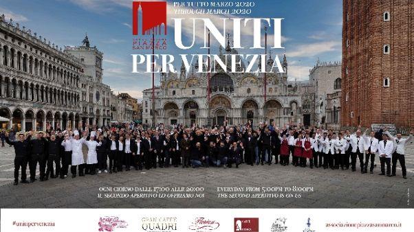 Coronavirus: Venezia offre drink gratis