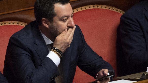 Salvini, governo incapace su emergenza