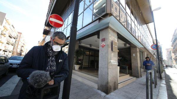Hotel Palermo, tamponi Covid 19 negativi