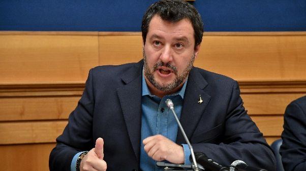 Salvini, proposta c.destra a Conte