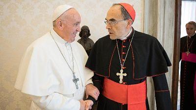 Papa: accetta dimissioni card. Barbarin
