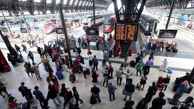 Coronavirus:Milano,molti partono per sud