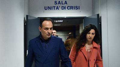 Governatore Cirio positivo al test
