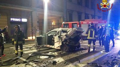 Incidente a Bologna, morto tassista