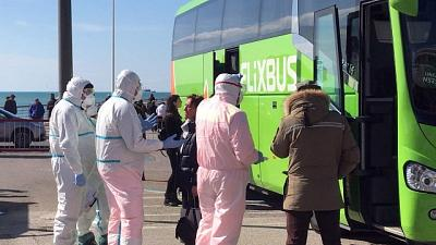 A Salerno controlli per bus e treni
