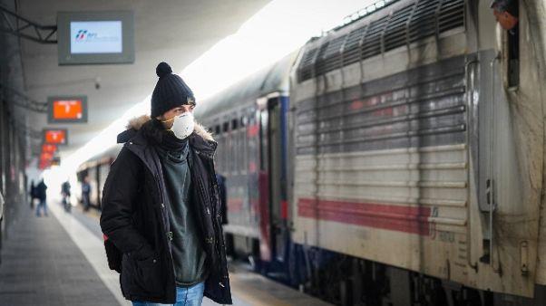 Treno da Milano con 4 ore di ritardo