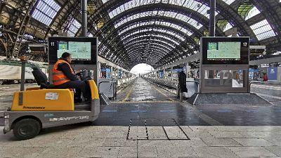 In Centrale a Milano poche partenze