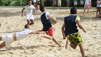Lancement du Beach Rugby Océan Indien Festival 2020